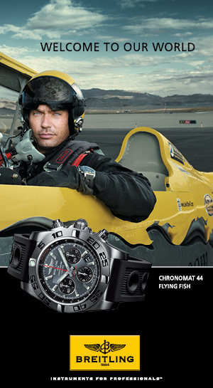 Click to Discover Breitling Chronomat 44 Flying Fish